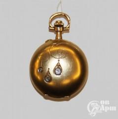 Часы-медальон Litzeda